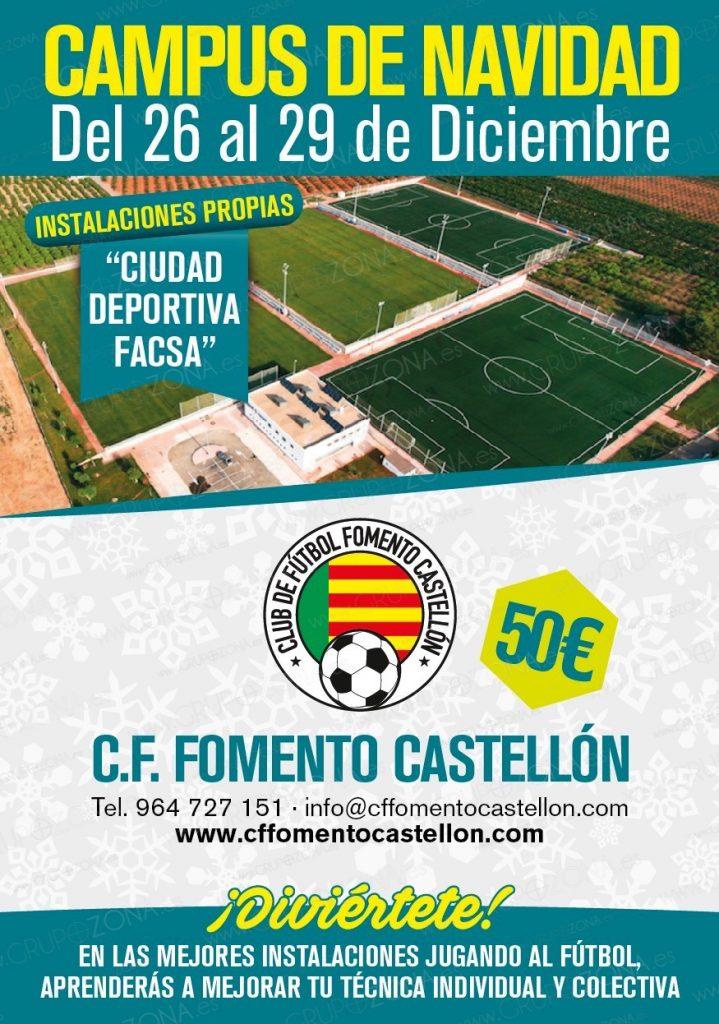 CF Fomento Castellón: LLega el II Campus de Navidad en unas ...