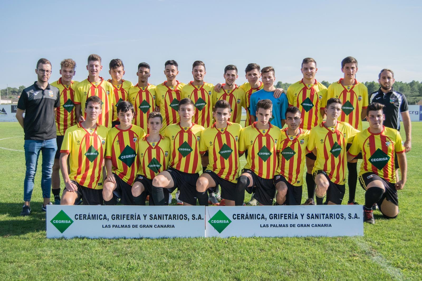 El Club Deportivo Vall d Alba presentó hace escasas fechas a toda su  estructura de equipos para esta temporada. Contará con un total de 9 equipos  (escoleta 6cf120beefd02