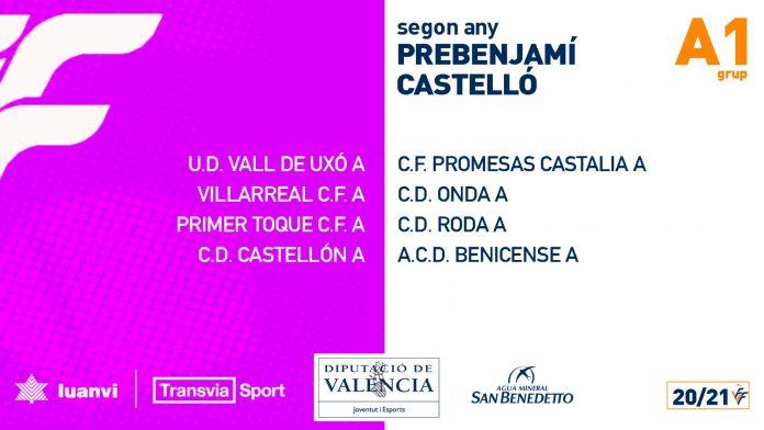 Grupo Prebenjamín Primer Año Castellón