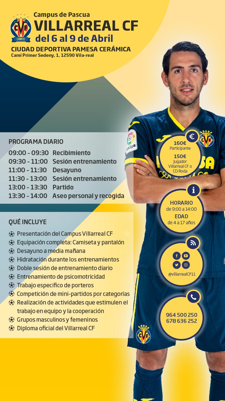 Campus Pascua 2021 Villarreal CF